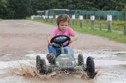 Веломобиль BERG Jeep Junior Pedal Go-kart 24.21.34 (Аттракцион36.рф)