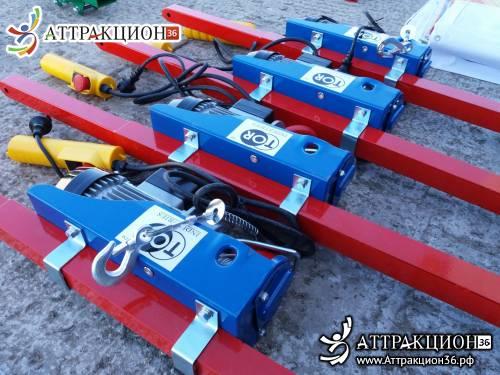 Лебедка электрическая 125кг/250кг (Аттракцион36.рф)