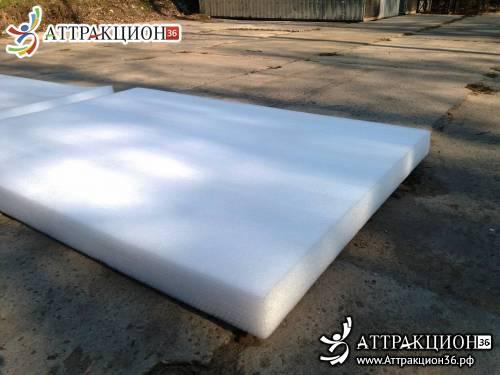 Мат 100мм для области приземления надувного батута 1.2м х 1.7м (Аттракцион36.рф)