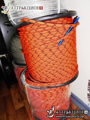 Веревка диаметр 8.5мм (1800кгс) страховочно-спасательная (Аттракцион36.рф)