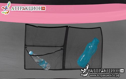 Батут HASTTINGS Classic Pink (3,05 м) (Аттракцион36.рф)