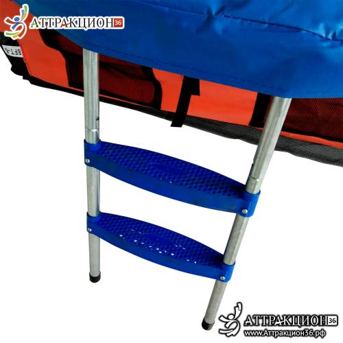 Спортивный батут DFC JUMP BASKET с сеткой 8FT-JBSK-B (Аттракцион36.рф)